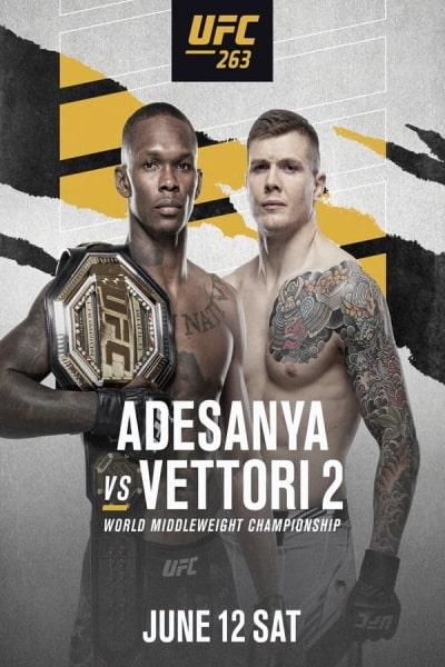 UFC 263: Adesanya vs. Vettori 2 | Watch Movies Online